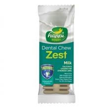 Snack Anjing Happi Doggy Dental Chew Zest Milk Gluten Free