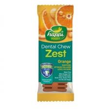 Snack Anjing Happi Doggy Dental Chew Zest Orange Gluten Free