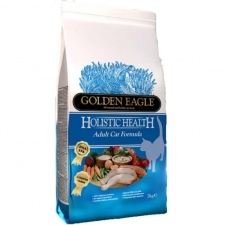 Golden Eagle Holistic Health Adult Chicken & Salmon Dry Cat Food 2kg