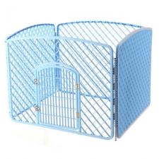 Kandang Pagar Pet Four Piece Fence Safety Zone 100x75x75cm BP266 Biru