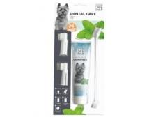 Sikat Gigi & Pasta Gigi Hewan M-Pets Dental Care 4 set MP-10110799