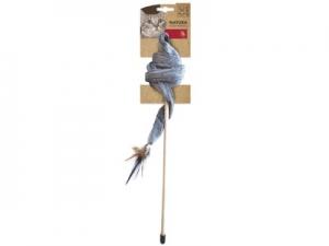 Mainan Kucing M-Pets Natura Plush Ribbon Cat Toy
