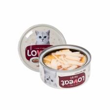 Makanan Basah / Kaleng Kucing Loveat Catfood Seafood Stick 90gr