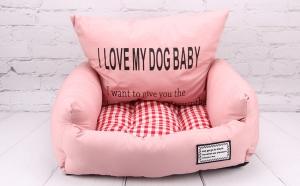 Kasur + Bantal Tidur Anjing Kucing Bobo BO-W18065 Medium 65x55x20cm