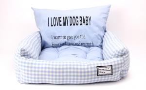 Kasur + Bantal Tidur Anjing Kucing Bobo BO-W18066 Small 55x45x18cm