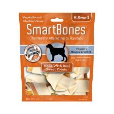 Snack Anjing Smart Bones Sweet Potato 6 Small