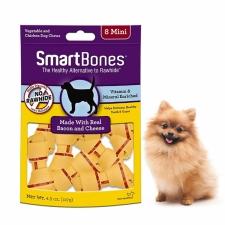 Snack Anjing Smart Bones Bacon Cheese 8 Mini