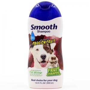 BBN Smooth All Natural Passionfruit Dog Pet Shampoo 500ml