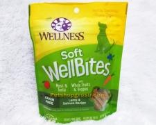 Wellness Wellbites Dog Grain Free Lamb & Salmon Soft 6oz