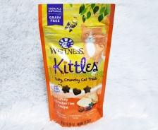 Snack Kucing Wellness Kittles Grain Free Turkey & Cranberries Recipe 2oz