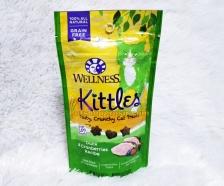 Snack Kucing Wellness Kittles Grain Free Duck & Cranberries Recipe 2oz