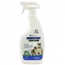 Desinfektant Gatal , Radang , Bakteri , Kuman Ultima Disinfectant Spray Dog & Cat Lemon Flavor 500ml