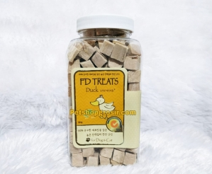 Snack Anjing & Kucing FD Treats Duck Cube for Dog & Cat 80gr