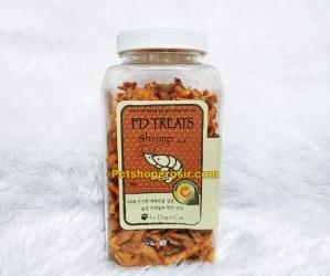 Snack Anjing & Kucing FD Treats Shrimp for Dog & Cat 55gr