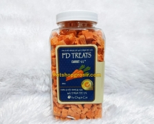 Snack Anjing & Kucing FD Treats Carrot for Dog & Cat 40gr