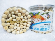 Snack Anjing Orgo Dog Biscuit Fresh Milk 125gr