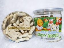 Snack Anjing Orgo Crispy Biscuit Milk Flavor 180gr