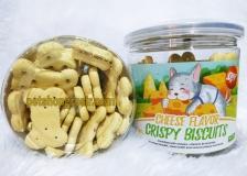 Snack Anjing Orgo Crispy Biscuit Cheese Flavor 180gr