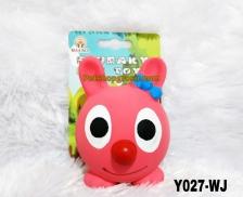 Mainan Hewan Latex Squeaky Toy 8cm