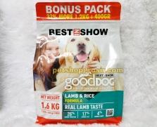 Makanan Anjing Best In Show Good Dog Dry Food Lamb & Rice 1.6kg