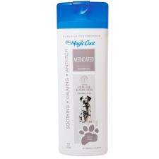 Shampoo Anjing Magic Coat Medicated Shampoo 16oz