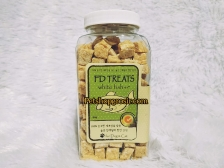 FD Treats White Fish Cube for Dog & Cat 60gr