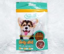 Snack Anjing Yummy Jerky Stick Lamb 70gr