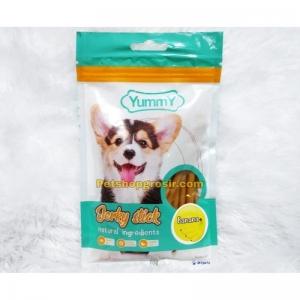 Snack Anjing Yummy Jerky Stick Banana 70gr
