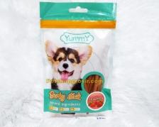 Snack Anjing Yummy Jerky Stick Strawberry 70gr