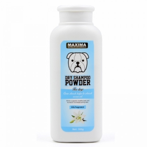 Bedak Anjing Maxima Dog Dry Powder Lily Fragrance 300gr