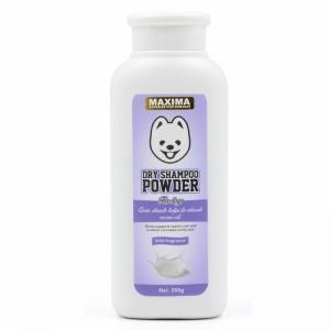Bedak Anjing Maxima Dry Powder Dog Milk Fragrance 300gr