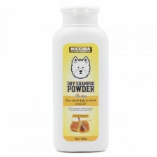 Bedak Anjing Maxima Dry Powder Dog Honey Fragrance 300gr