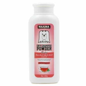 Bedak Anjing Maxima Dog Dry Powder Black Tea Fragrance 300gr